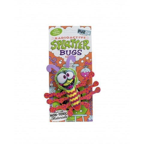 FUZZY SPLATTERBUG CAT TOY BLAST O CAT