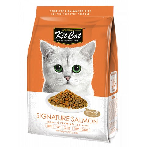 KIT CAT PREMIUM CAT FOOD SIGNATURE SALMON