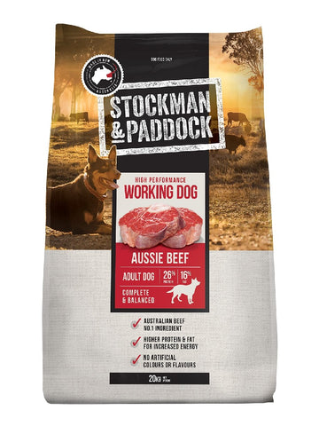 STOCKMAN & PADDOCK WORKING DOG 20KG