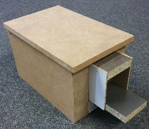 AVICO BUDGIE WOODEN NEST BOX