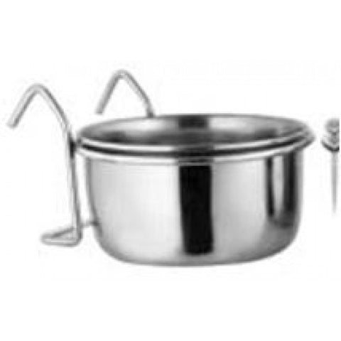S/STEEL COOP CUP WITH HOOKS 0.56LT 20OZ