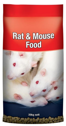 LAUCKE RAT & MOUSE FOOD 20KG