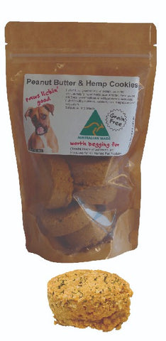 Peanut Butter & Hemp Cookies 150g