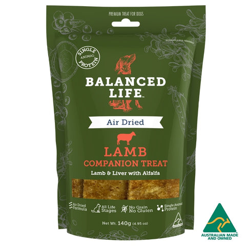BALANCED LIFE COMPANION DOG TREAT LAMB 140