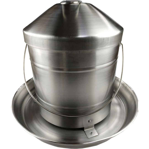 Greenleaf Stainless Steel Poultry Chicken Feeder 8kg