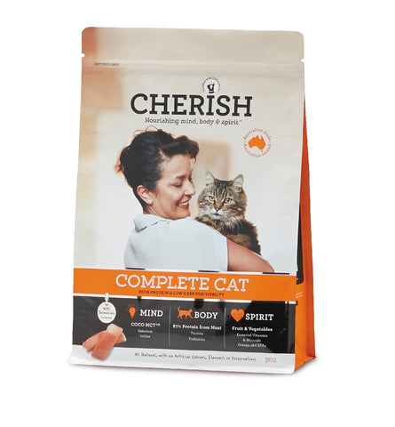CHERISH COMPLETE CAT DRY CAT FOOD 3KG