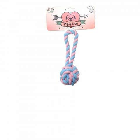 PUPPY LOVE BALL PITCH TOY 22CM