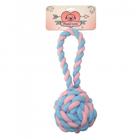 PUPPY LOVE BALL PITCH TOY 30CM