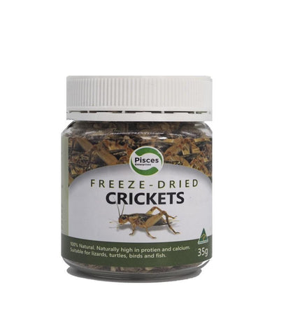 PISCES FREEZDRIED CRICKETS 35G