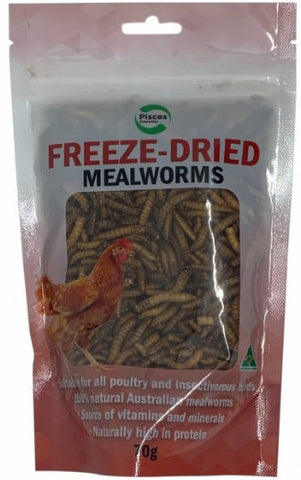 PISCES FREEZEDRIED MEDLEY POULTRY 50G