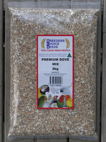 BREEDERS CHOICE SEEDS PREMIUM DOVE MIX