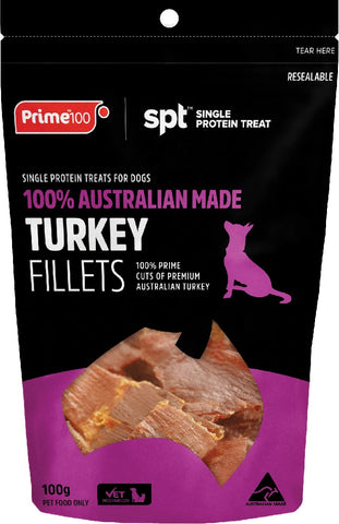 PRIME100 TURKEY FILLETS 100G