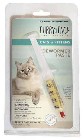 FURRY FACE DEWORMER PASTE 5.12G