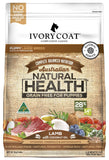 IVORY COAT DOG FOOD GRAIN FREE LARGE BREED PUPPY LAMB 13KG