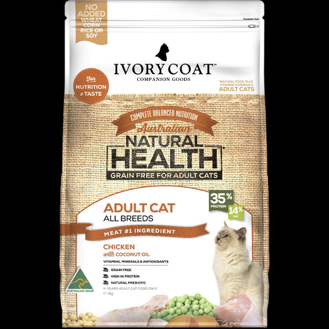 Ivory Coat Adult Cat Chicken & Coconut Oil 3kg