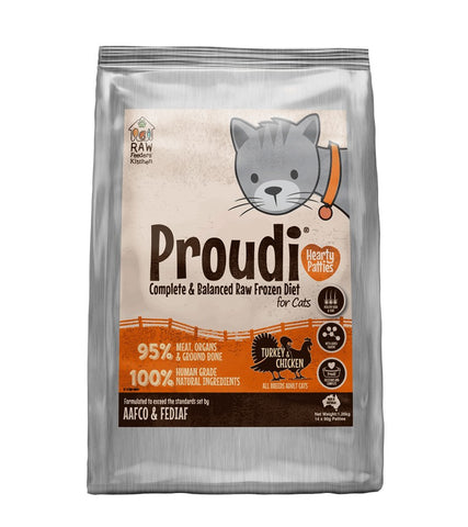 PROUDI CAT TURKEY&CHICKEN 1.26KG