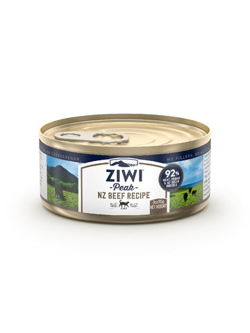 ZIWI PEAK BEEF WET CAT CAN 24*85G