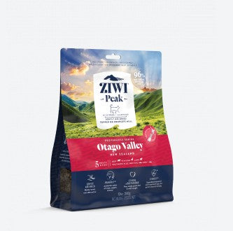 ZIWI PEAK PROVENANCE OTAGO VALLEY AIR DRIED CAT FOOD 340G