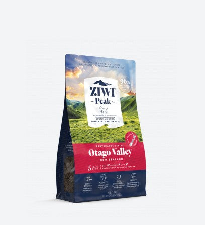 ZIWI PEAK PROVENANCE OTAGO VALLEY AIR DRIED DOG FOOD 900G
