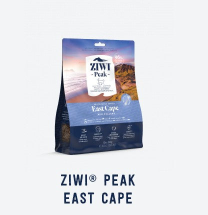 ZIWI PEAK PROVENANCE EAST CAPE AIR DRIED CAT FOOD 340G