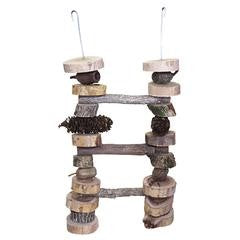 Bird Nerd Parrot Toys - Large Ladder