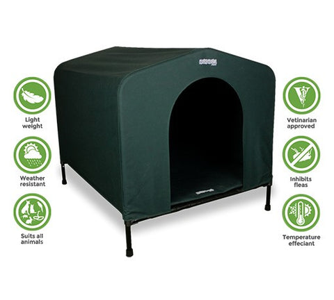 HOUND HOUSE MEDIUM GREEN