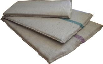 HESSIAN KENNEL MAT