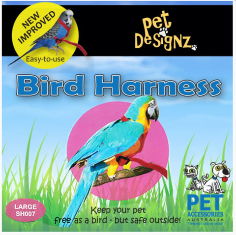 PET DESIGNZ BIRD HARNESS