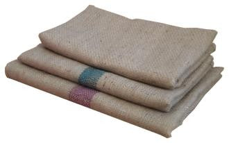 HESSIAN SACK BED COVER