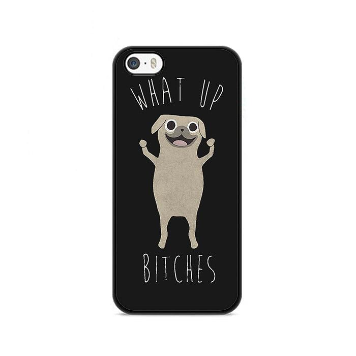 What Up Bitches iPhone 5|5S|SE hoesjes