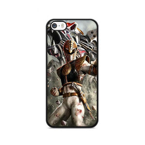 White Power Rangers Poster iPhone 5|5S|SE hoesjes