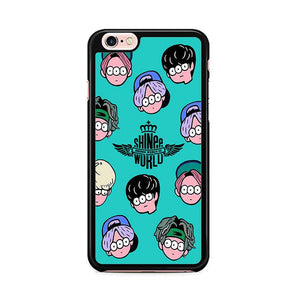 Shinee KPOP Boyband iPhone 6 Plus | iPhone 6S Plus hoesjes