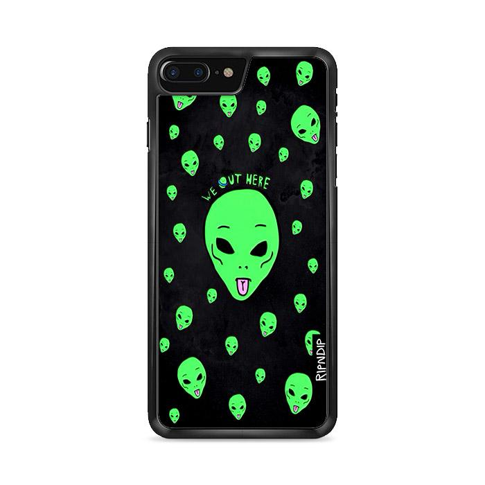 Ripndip We Out Here Alien iPhone 7 hoesjes Plus