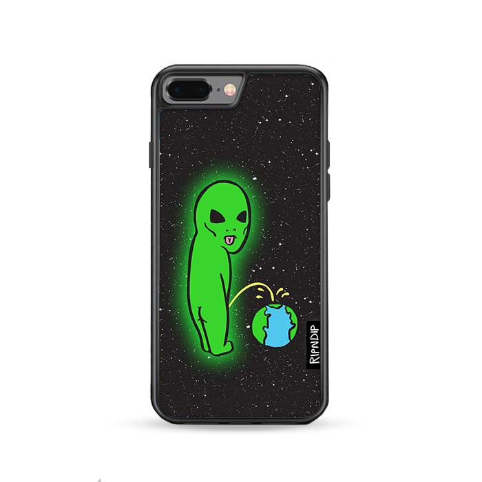 Ripndip Alien Wallpaper iPhone 8 Plus hoesjes