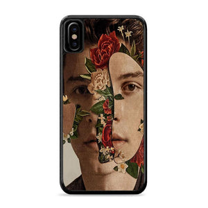 Shawn Mendes Flower iPhone X hoesjes