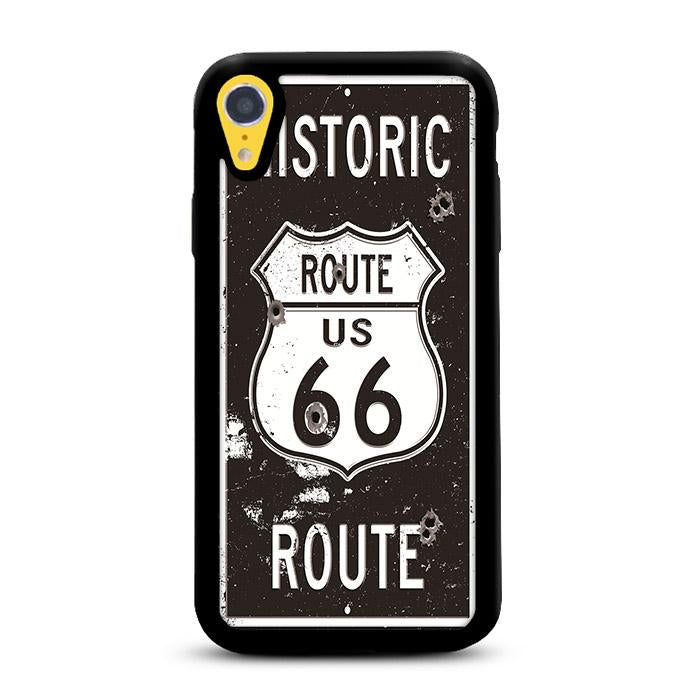Route 66 Historic iPhone XR hoesjes