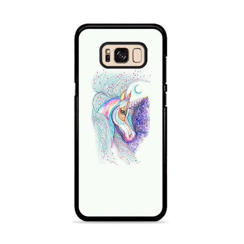 Unicorn Galaxy Artwork Samsung Galaxy S8 Plus hoesjes