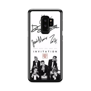 Why Dont We Signature Samsung Galaxy S9 Plus hoesjes