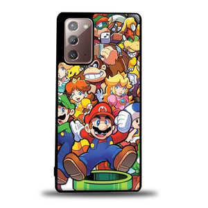 coque custodia cover fundas hoesjes j3 J5 J6 s20 s10 s9 s8 s7 s6 s5 plus edge B37219 Super Mario Party FF0083 Samsung Galaxy Note 20 Case
