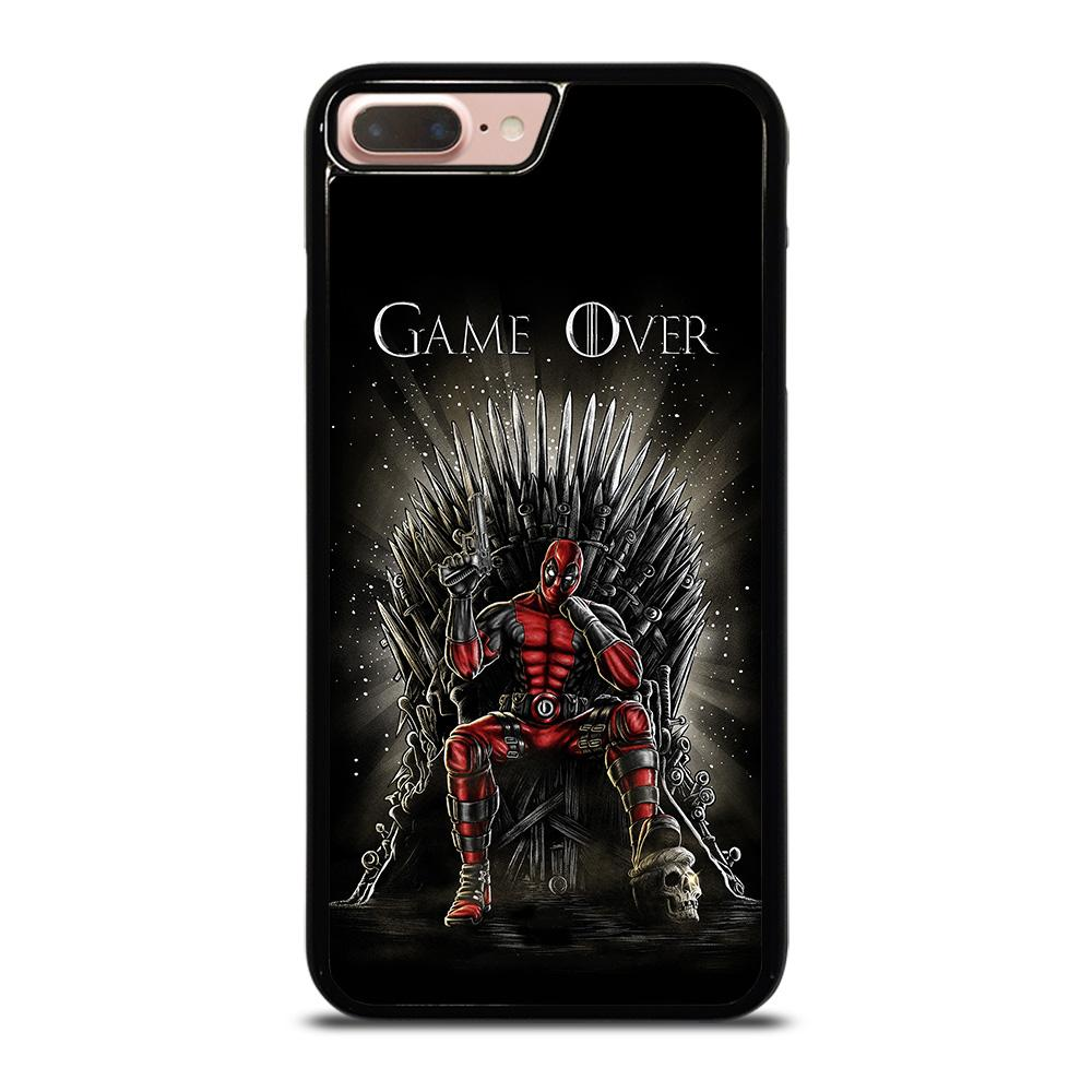 coque custodia cover fundas hoesjes iphone 11 pro max 5 6 7 8 plus x xs xr se2020 C16345 DEADPOOL GAME OF THRONES iPhone 7 / 8 Plus Case