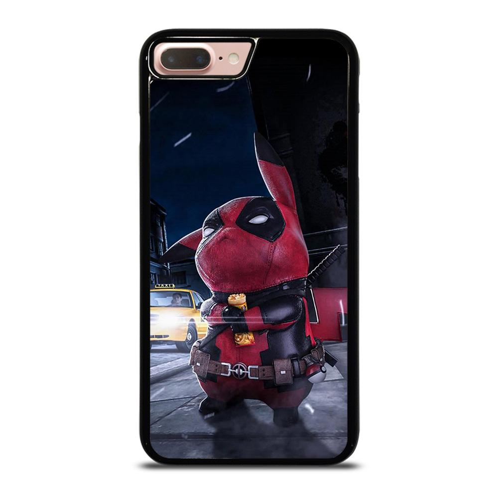 coque custodia cover fundas hoesjes iphone 11 pro max 5 6 7 8 plus x xs xr se2020 C16429 DEADPOOL POKEMON PIKACHU iPhone 7 / 8 Plus Case