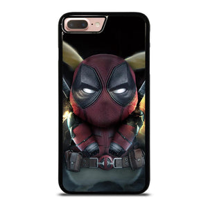 coque custodia cover fundas hoesjes iphone 11 pro max 5 6 7 8 plus x xs xr se2020 C16408 DEADPOOL POKEMON PIKACHU 2 iPhone 7 / 8 Plus Case