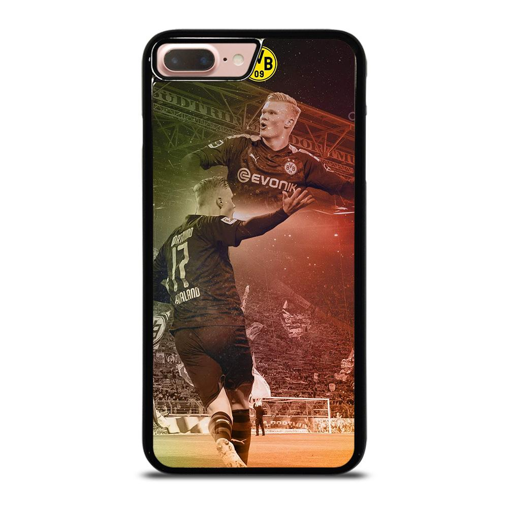 coque custodia cover fundas hoesjes iphone 11 pro max 5 6 7 8 plus x xs xr se2020 C18290 ERLING HAALAND DORTMUND iPhone 7 / 8 Plus Case