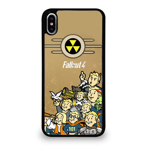 coque custodia cover fundas hoesjes iphone 11 pro max 5 6 7 8 plus x xs xr se2020 C18482 FALLOUT BOY CHARACTER iPhone XS Max Case