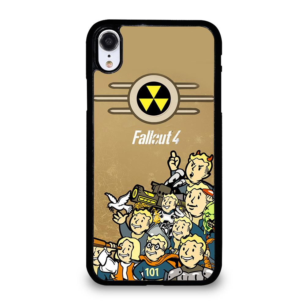 coque custodia cover fundas hoesjes iphone 11 pro max 5 6 7 8 plus x xs xr se2020 C18481 FALLOUT BOY CHARACTER iPhone XR Case