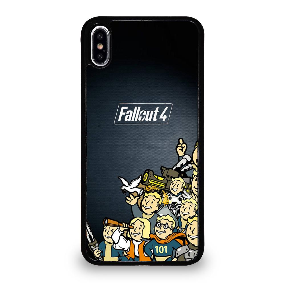 coque custodia cover fundas hoesjes iphone 11 pro max 5 6 7 8 plus x xs xr se2020 C18472 FALLOUT BOY CHARACTER 1 iPhone XS Max Case