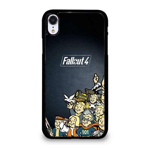 coque custodia cover fundas hoesjes iphone 11 pro max 5 6 7 8 plus x xs xr se2020 C18471 FALLOUT BOY CHARACTER 1 iPhone XR Case