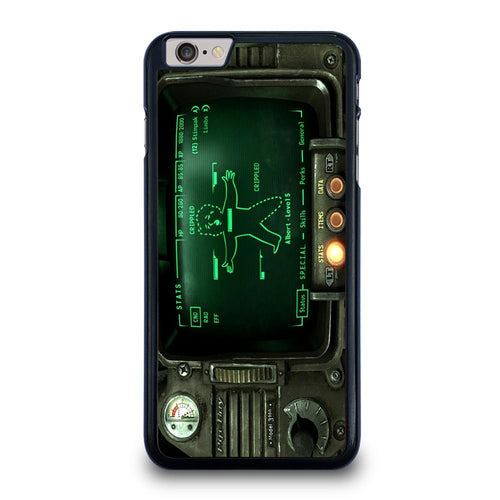 coque custodia cover fundas hoesjes iphone 11 pro max 5 6 7 8 plus x xs xr se2020 C18518 FALLOUT PIP BOY 3000 iPhone 6 / 6S Plus Case