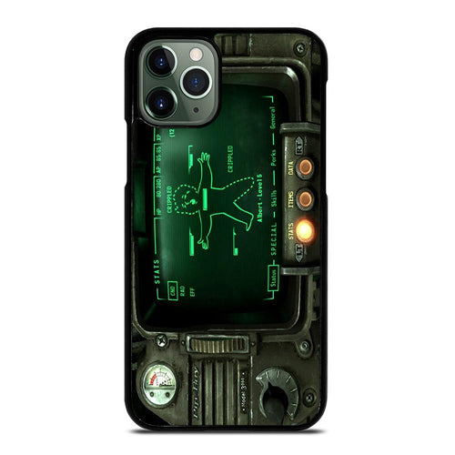 coque custodia cover fundas hoesjes iphone 11 pro max 5 6 7 8 plus x xs xr se2020 C18515 FALLOUT PIP BOY 3000 iPhone 11 Pro Max Case