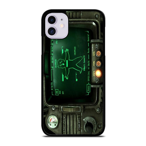 coque custodia cover fundas hoesjes iphone 11 pro max 5 6 7 8 plus x xs xr se2020 C18513 FALLOUT PIP BOY 3000 iPhone 11 Case